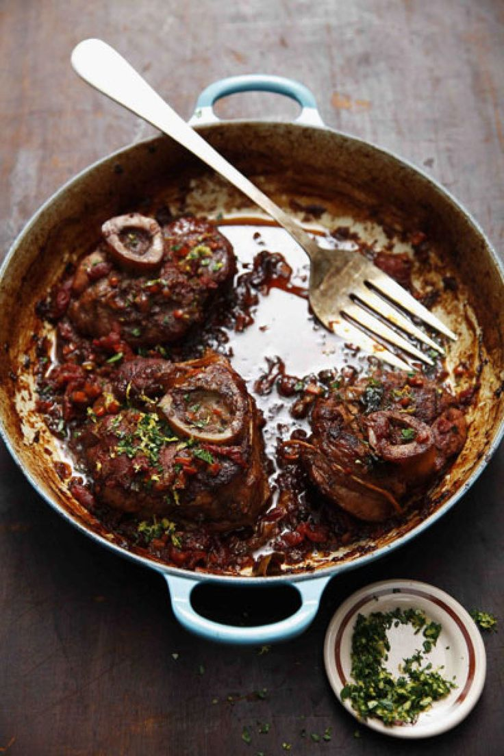 Osso Buco (Braised Veal Shanks) Recipe | SAVEUR
