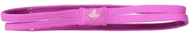 prAna Women's Double Headband Vivid Viola