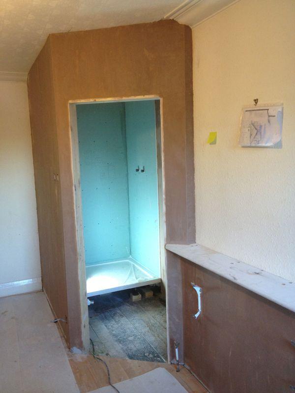 Plasterboarding An En-Suite