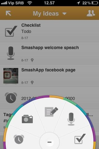 Catch Notes | Coolest apps for iPhone 4, iPad and Android | Smashapp