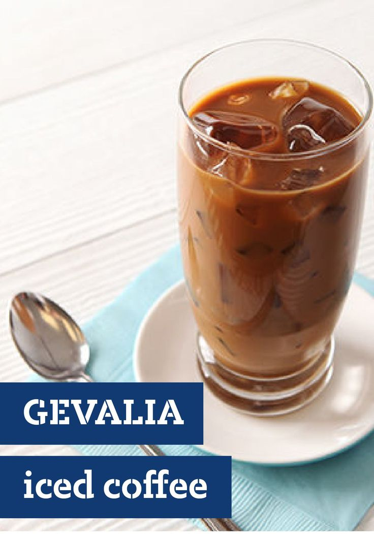 GEVALIA Iced Coffee – Skip the line at the pricy coffee shop and make this refreshing GEVALIA Iced Coffee at home. It can be ready to chill in the fridge in just 10 minutes.