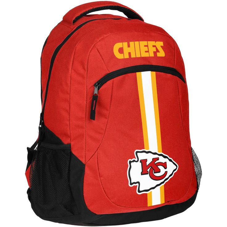 Kansas City Chiefs NFL Action Backpack Striped backpack