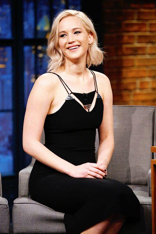 Jennifer Lawrence on Late Night with Seth Meyers!