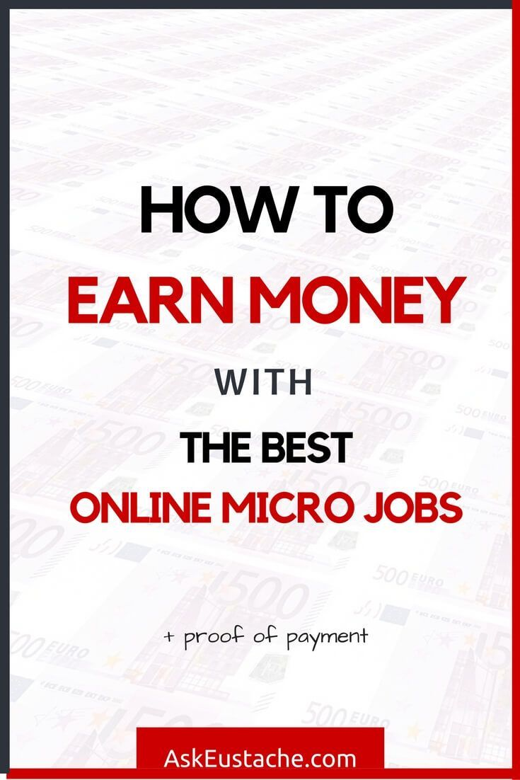 Earn Money With The Best Online Micro Jobs Websites! From sharing updates on…