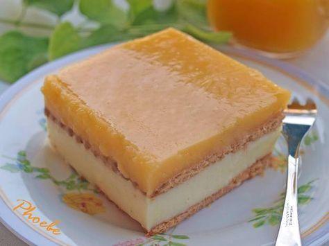 Γλυκό ψυγείου με πορτοκαλάδα #cookpadgreece