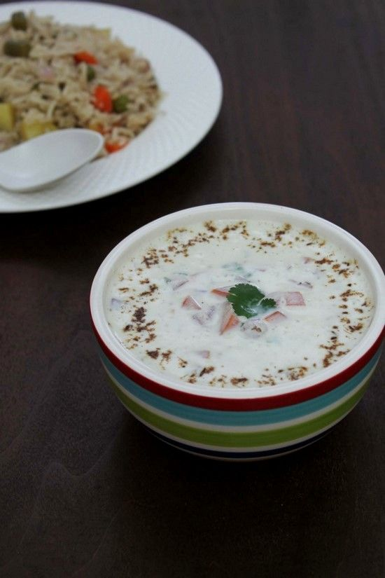 quick and easy raita. Very refreshing and cooling recipe