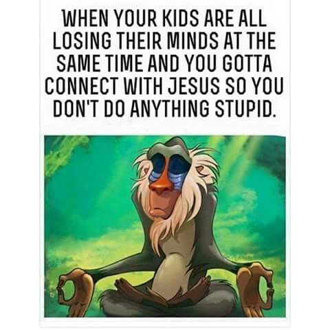 LOL!!! I don't have any kids, but I find myself doing this when I'm with other people's kids who are bad
