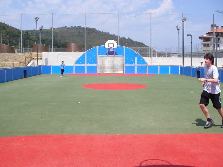 Sports Complex in Orio, Spain #NSFootball