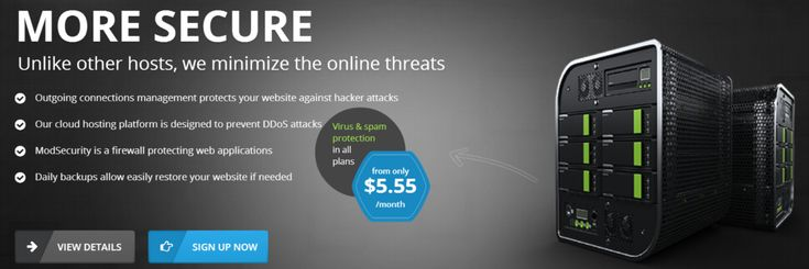 To avoid brute force attacks DDoS attacks and prevent situations when websites with security holes are hacked MarbleHost.com now offers to all clients who use their shared web hosting services a protection which consists of two levels.->