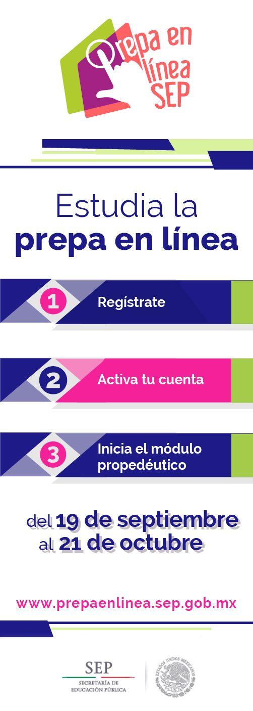 PREPA EN LÍNEA-SEP ABRE SU CUARTA CONVOCATORIA DE ESTE AÑO