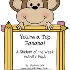 This is a fun activity pack to help celebrate a student of the week. In this pack you will get directions on how I use this pack in my classroom pl...
