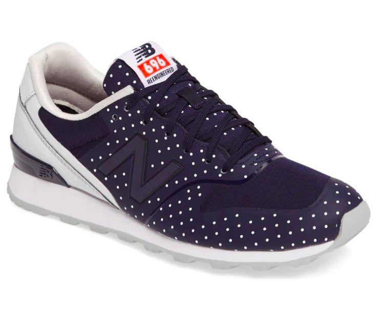Polka Dot New Balance Sneakers