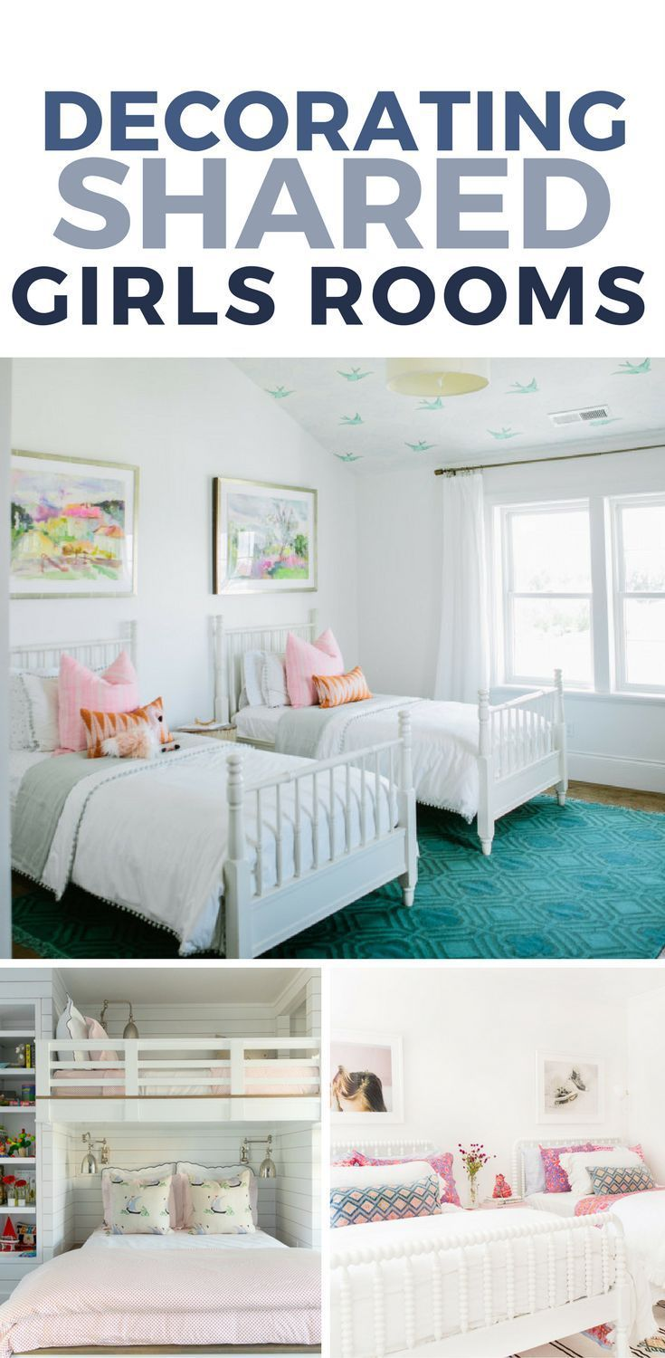 Shared girls room ideas inspiration for shared bedrooms for kids - Girls bedroom ideas a must have for one and all ...