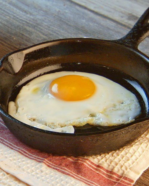 How to make a perfect fried egg every time.