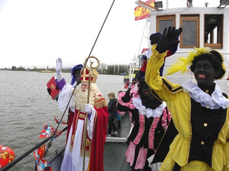 Pieten op de boot 2015