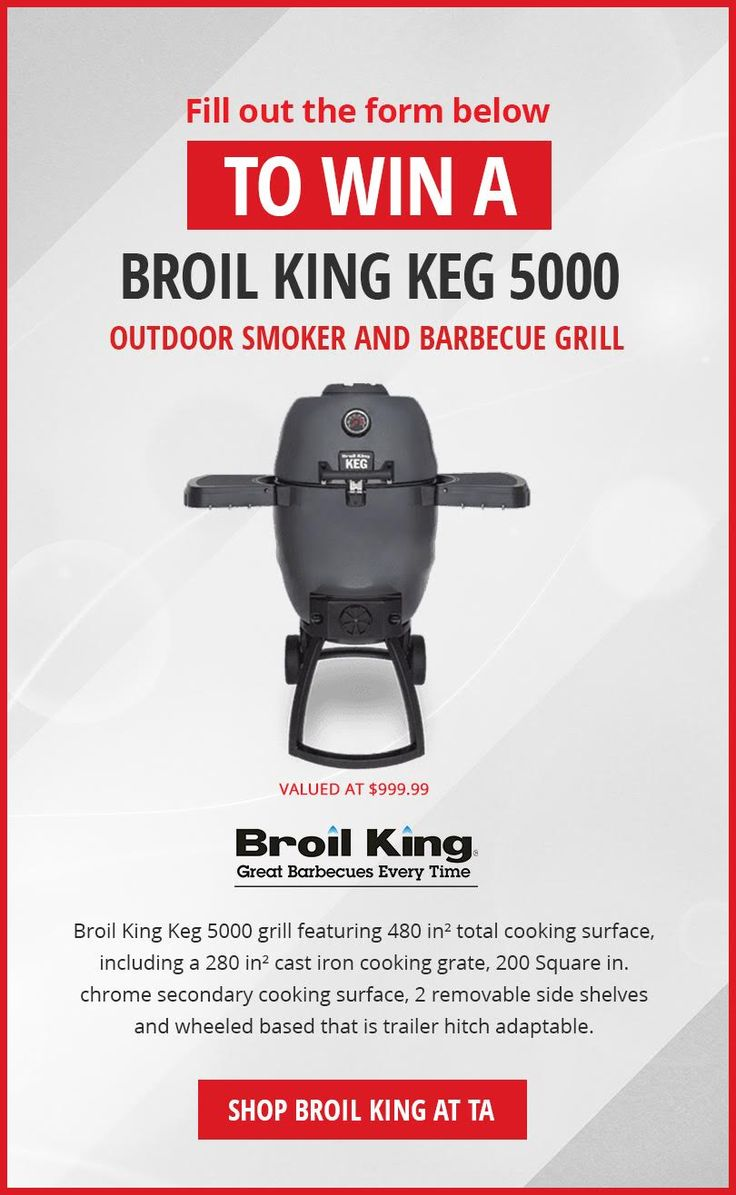 Win a Broil King Keg 5000!  #sweepstakes #giveaway #sorteo #contest