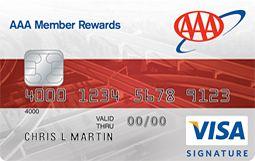 AAA Member Rewards Visa Signature® Credit Card | CardsBull.com