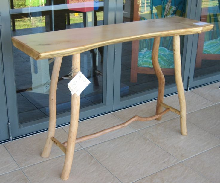 Bush furniture side table. Made by Graeme Henchel.