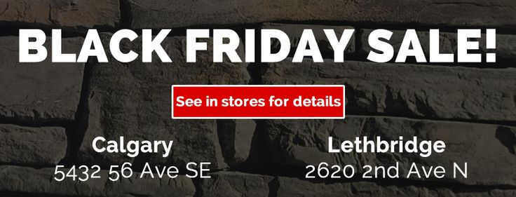 Visit our stores in #Lethbridge and #Calgary AB for our #BlackFriday specials! www.KodiakMountain.com