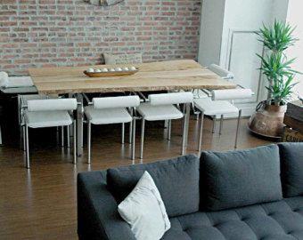 Live Edge Table Reversed Live Edge Boardroom by TreeGreenTeam