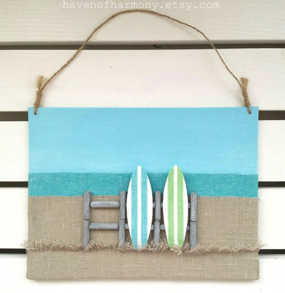 Surfboards Decor Surf Decor 3D Surfboards Wall by HavenOfHarmony