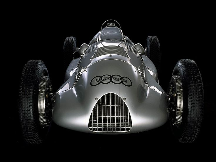 1938 Auto Union Type D.  One of the most beautiful cars ever.
