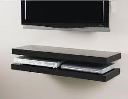1000 ideas about shelf above tv on pinterest tv on wall DIY Floating Shelves floating media shelf white