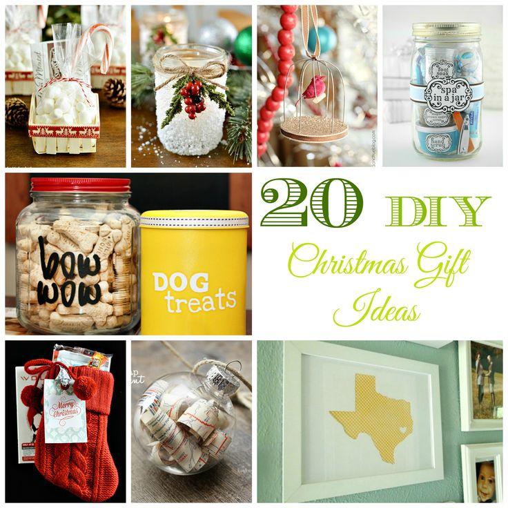 20 Last Minute DIY Christmas Gift Ideas!