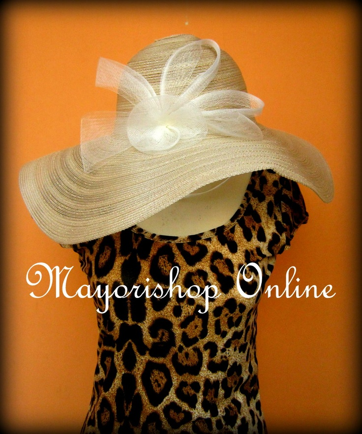 Vintage Hat BROKEN WHITE. Diameter 50cm. Price Rp.75.000,-. Order Via SMS 081212415282 / Pin bb 26e6d360. Facebook Fan Page : Mayorishop Online. READY STOCK. Reseller Welcome :)