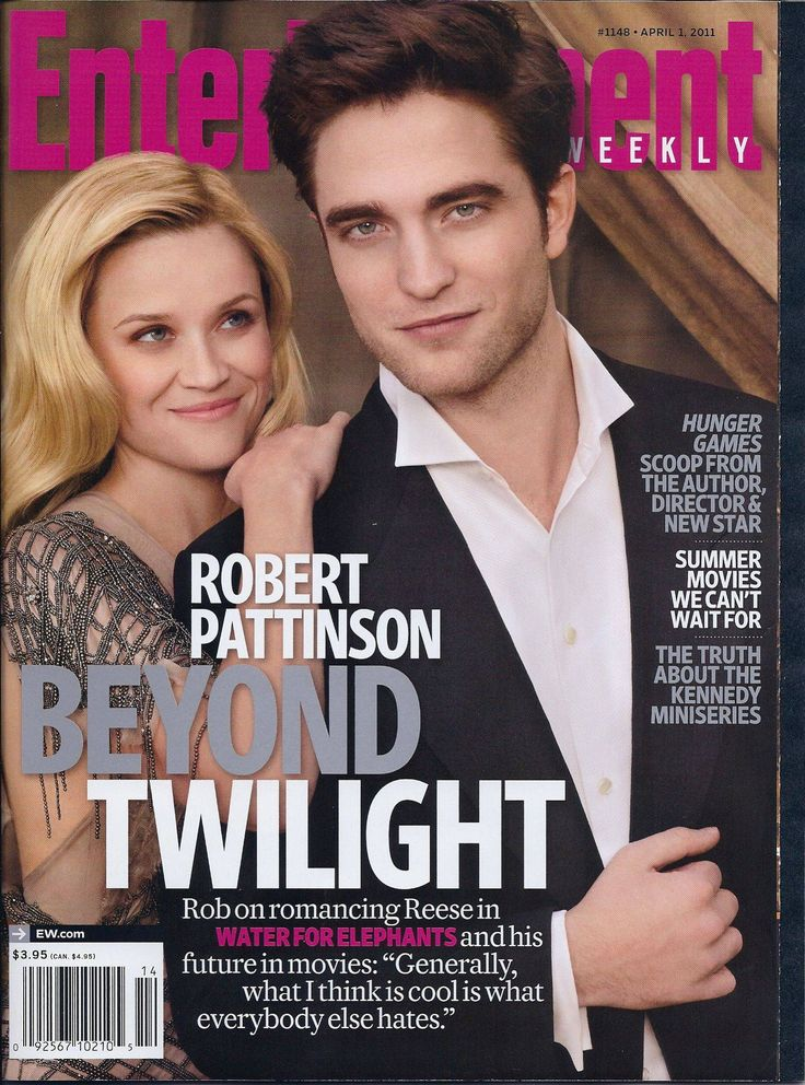 Rob and Reese Witherspoon on cover of Entertainment Weekly