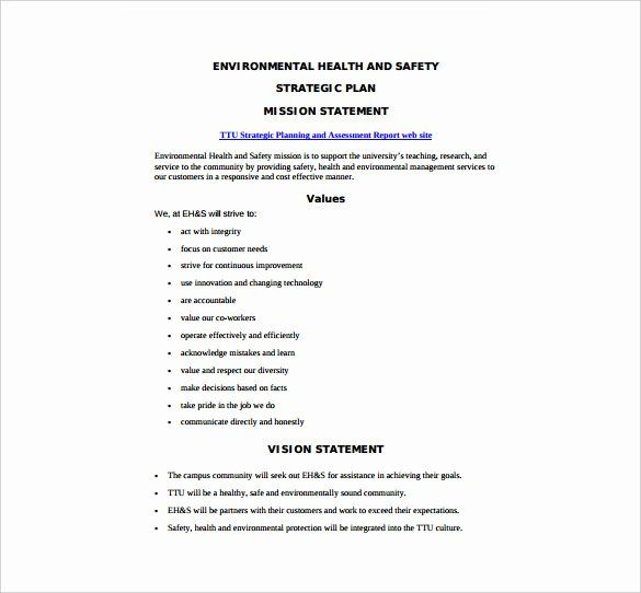 40 Construction Safety Plan Template In 2020 Health And Safety