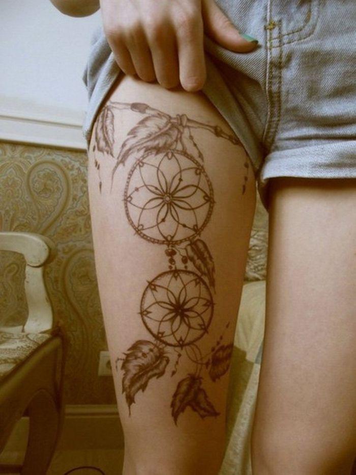 ▷ Über 1001 Bein-Tattoo-Ideen für jeden Geschmack und jedes Alter   – Tattoo…