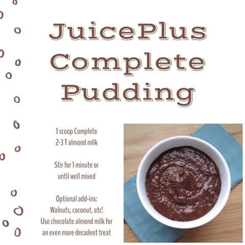 Chocolate Pudding - Juice Plus
