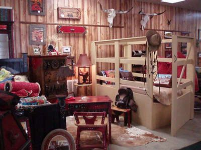 What a neat cowboy bed for boys! Texas True: Western Furniture & Decor, Texas Gifts, Cowboy & Rodeo Gifts