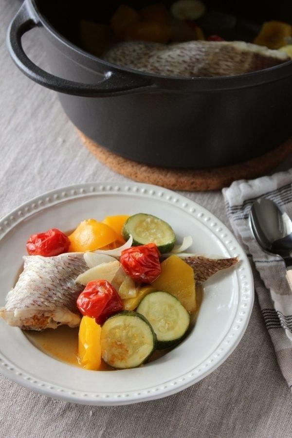 夏野菜と鯛の和風アクアパッツァ by 調理師あこ | レシピサイト「Nadia ...