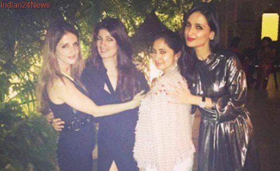 Inside Twinkle Khanna's baby sister Rinke's birthday celebration. See photos