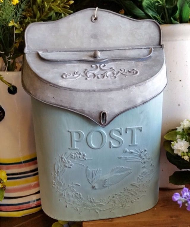 17 best images about postal services on pinterest old for Embossed tin letter box