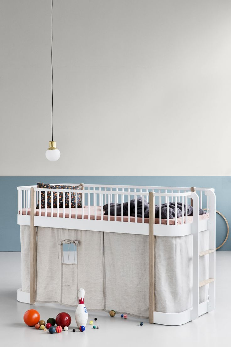 Wood Collection low loft bed by Oliver