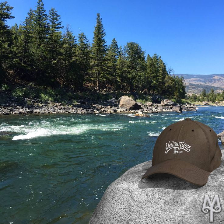 Is this the year you fly fish the Yellowstone River in Montana? Pick up a 'Yellowstone' river baseball cap before your trip. Shop now! :)