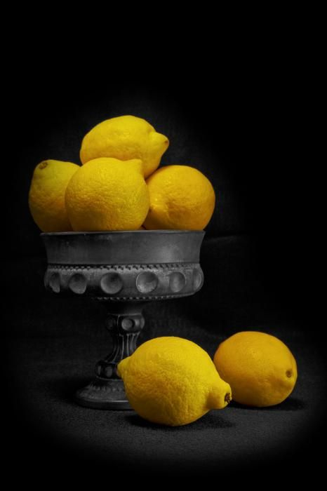 ~~ Still Life with Lemons by Tom McNemar ~~