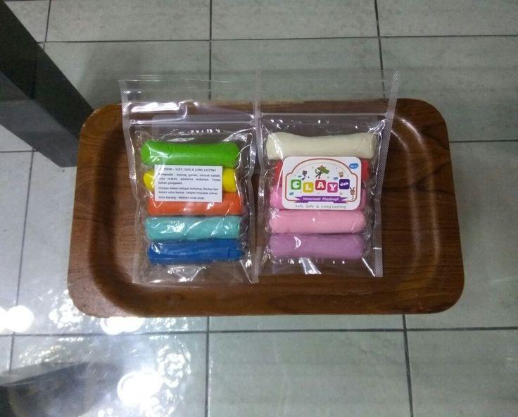 Homemade playdough 250gr/pack