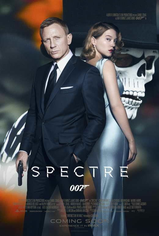 Spectre Movie Poster 27 X 40 Daniel Craig Lea Seydoux C