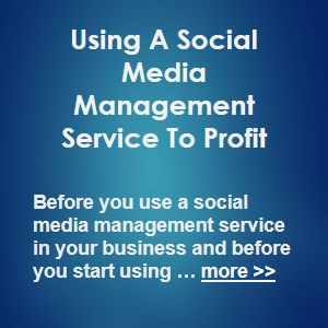 Before you use a social media management service in your business and before you start using the social media to promote and market your product or service for profit … more >> #SocialMediaMarketing #SocialMedia #SMM #SMO #Social #Marketing #Sales #Business #Ecommerce #Commerce #Profit #Profits