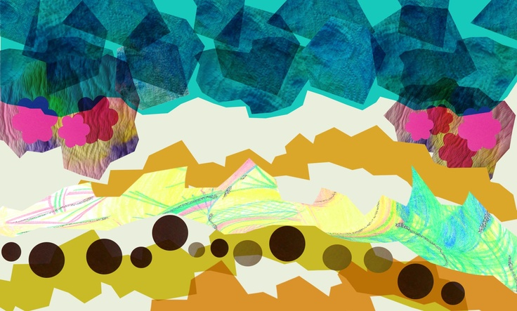 "Pattern inspired by Bill Lovelady song ""one more reggae for the road""  Hanna-Riikka Suihkonen"