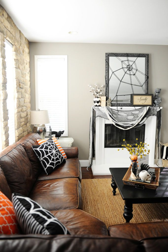 halloween home tour - Halloween Ideas For Home