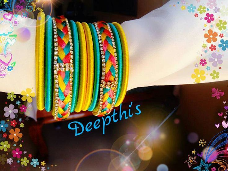 pleated type bangles