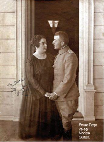 Enver Paşa'nın 4 Ağustos 1922 tarihinde vefatından sonra onun vasiyetine uyarak Kamil Bey'le evlenen Naciye Sultan 1952 yılında çıkarılacak olan yasaya kadar yurtdışında yaşar. 1952 yılında yurda dönen Naciye Sultan, 4 Aralık 1957 tarihinde yakalandığı kanser hastalığından kurtulamayarak vefat etti. Sultan'ın Enver Paşa'dan Mahpeyker (1917–2000), Türkan (1919 – 25 Aralık 1989) ve Ali (1920–1971) adlarında üç çocuğu ile Kamil Bey'den Rana Eldem (1926–2008) adında bir kızı bulunmaktaydı.
