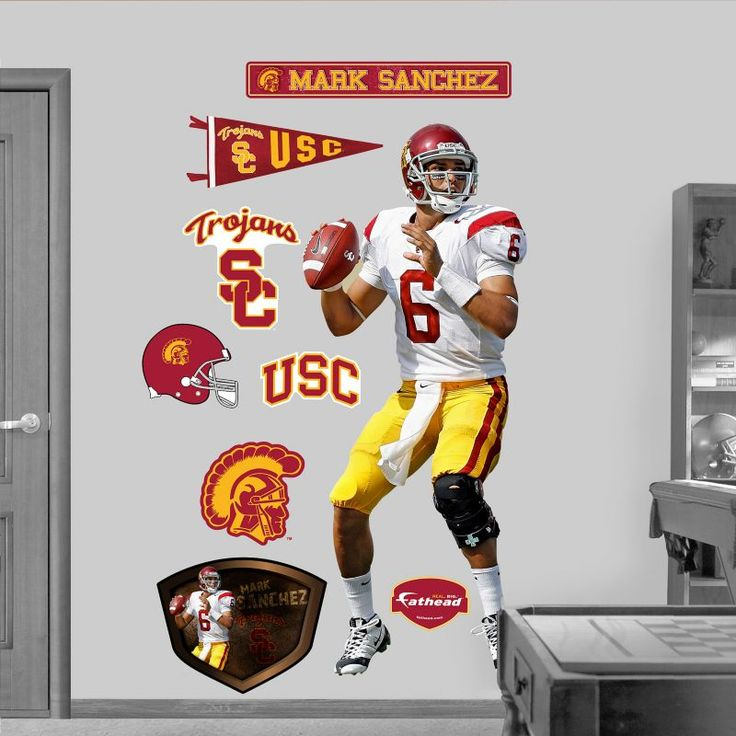 Fathead USC Trojans Mark Sanchez Wall Graphic, Team