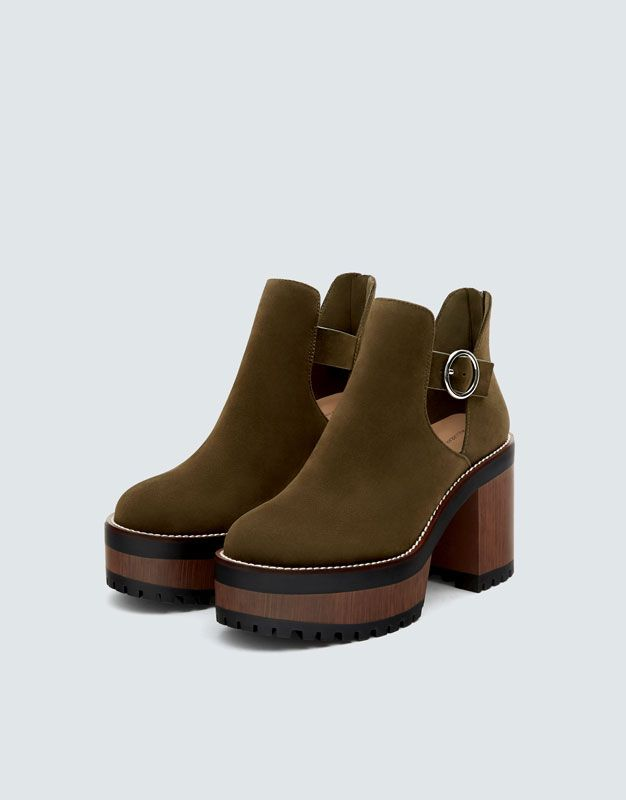 talon en Bottines bear 2019Bottine bloc vertes pull kXiPuOZ