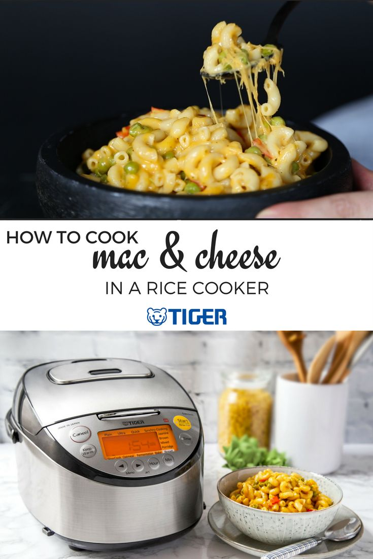 How to Cook Macaroni & Cheese in a Rice Cooker